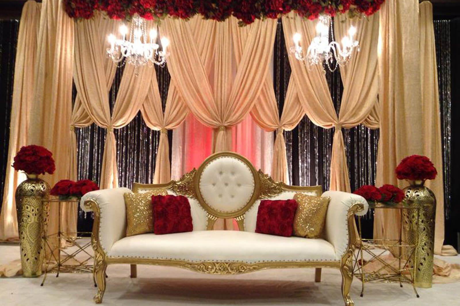 Indian wedding bedroom decoration ideas - India Wedding Backdrop Google Search Kids Birthday Party Pinterest Wedding Stage Decorations Stage Decorations And Wedding Stage