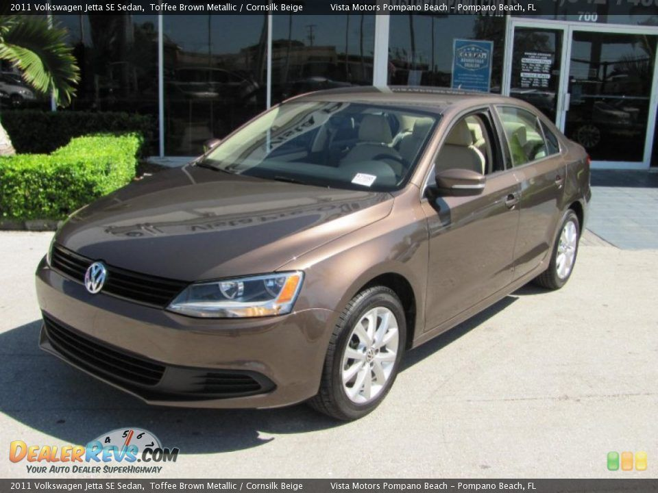 2011 Vw Jetta Toffee Brown Beige Leather Interior W Sunroof