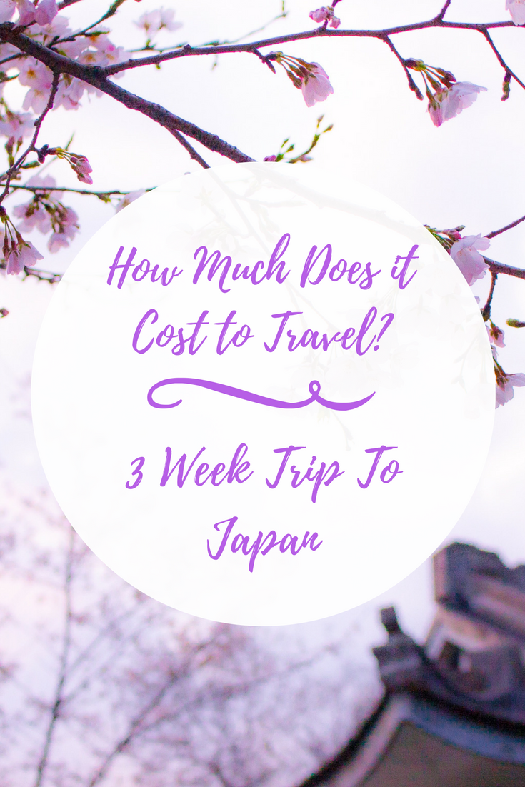 How Much Does It Cost To Travel Week Trip To Japan Japan - How much is a trip to japan