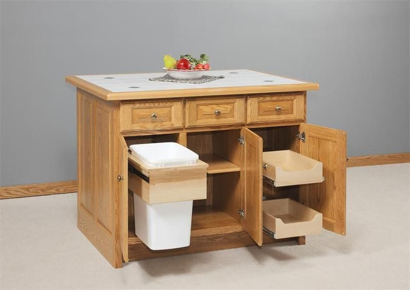 Our Stylish Amish Furniture Solid Wood Kitchen Island