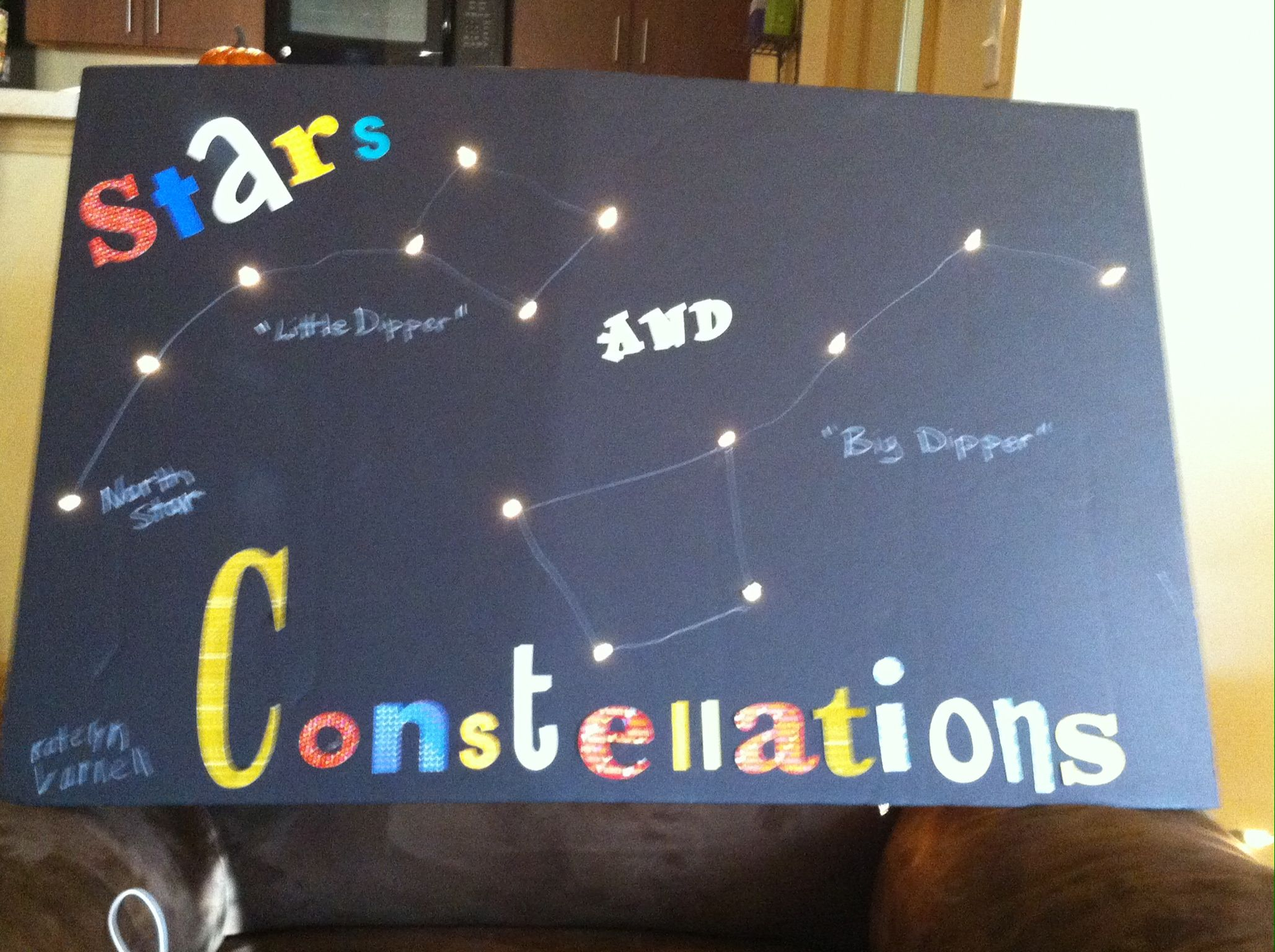 Stars And Constellations Science Project
