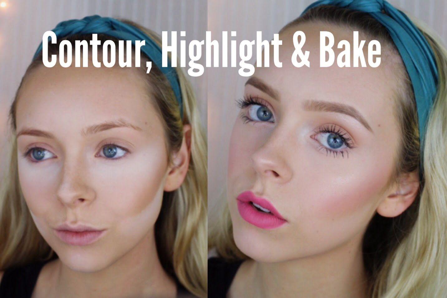 How To Contour, Highlight & Bake Cosmobyhaley Fair