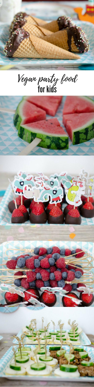 Vegan Party food for Kids / Vegane Rezepte Partyfood/Fingerfood für die Kinderparty