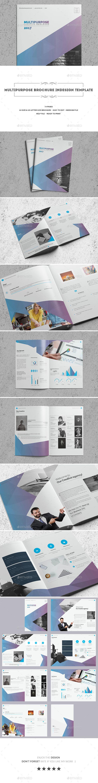 Multipurpose Brochure Indesign Template | Diseño editorial y Editorial
