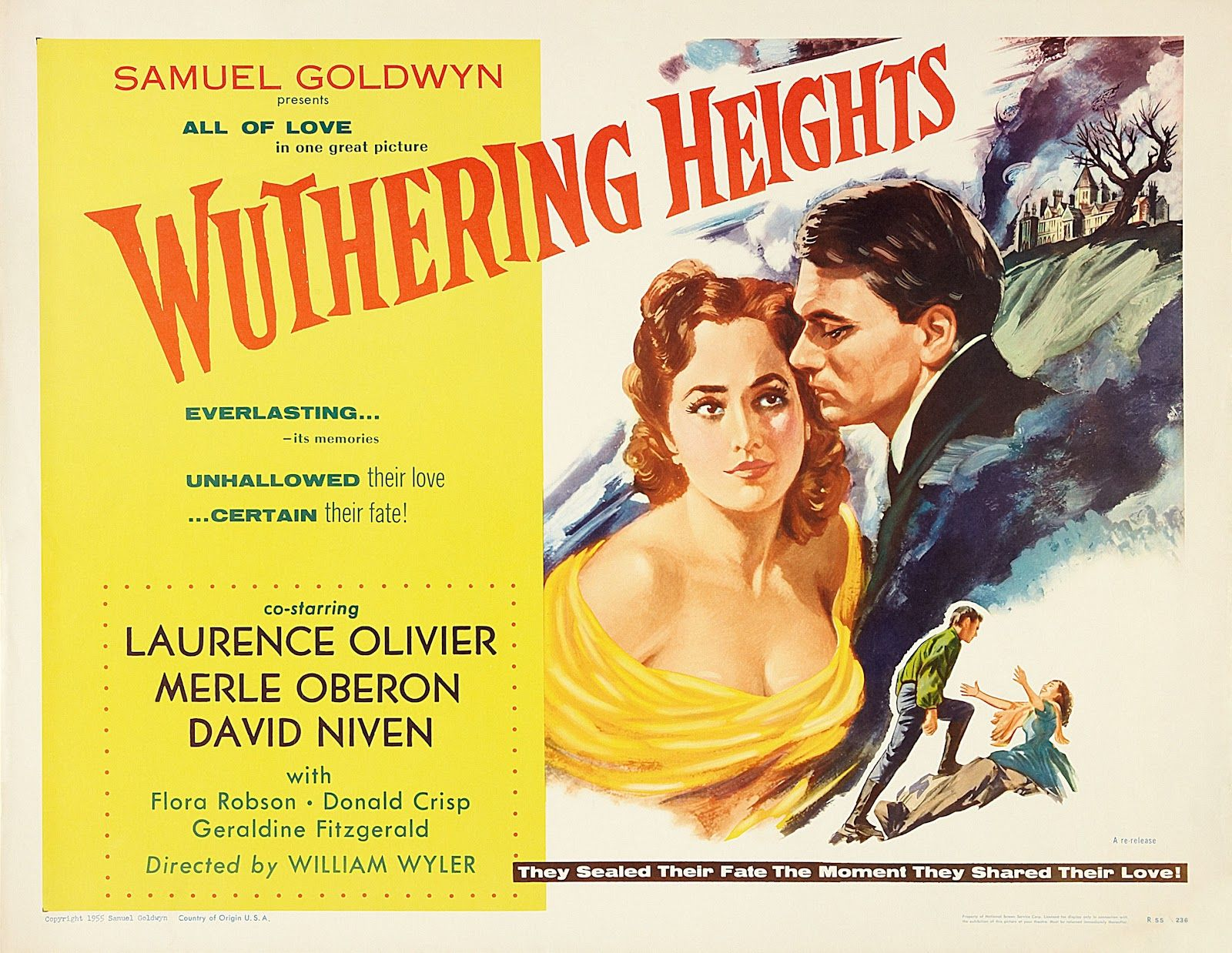 'Wuthering Heights' 1939The only Heathcliff for me