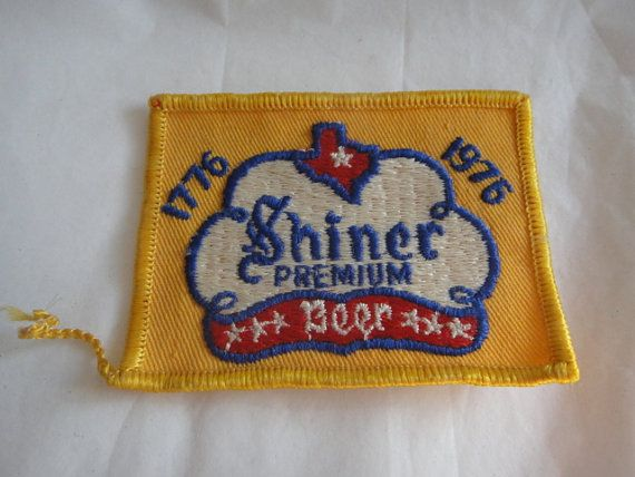 Vintage Patch Shiner Premium Beer Patch by ShoppingLounge on Etsy