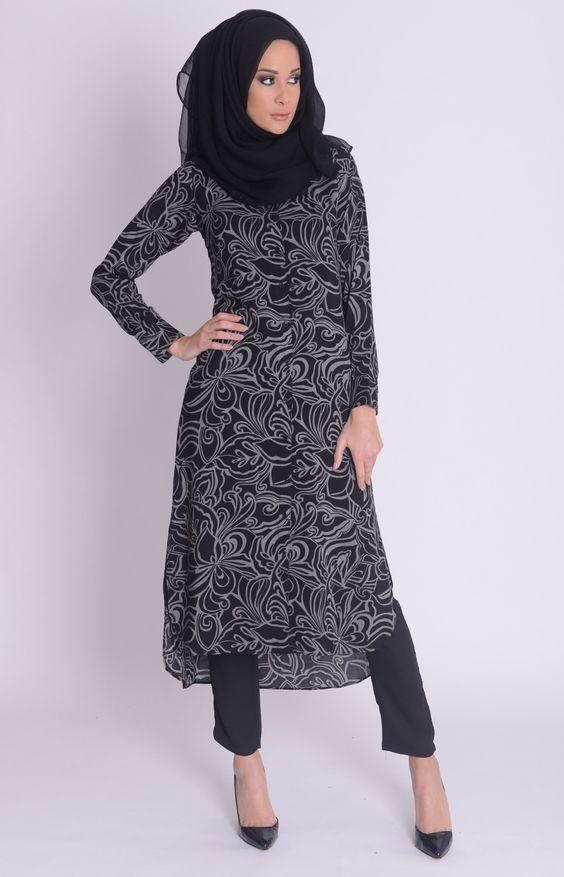 c36d5c556a7 prettiest short abaya for modest girls (13). prettiest short abaya for  modest girls (13) Hijab Style