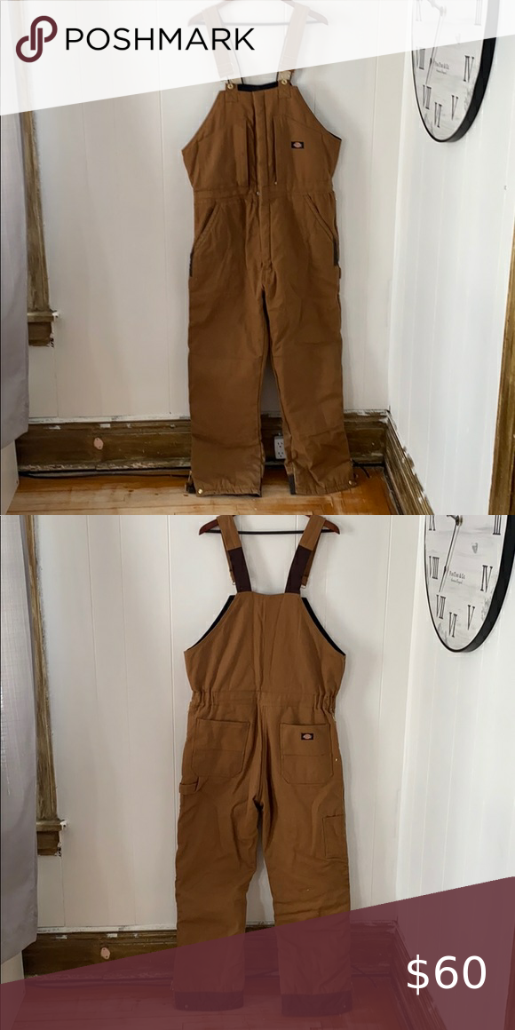 men s dickies insulated overalls large in 2020 on insulated overalls for men id=89358