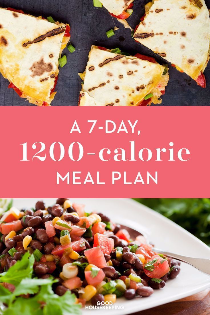 A 7Day 1200Calorie Meal Plan