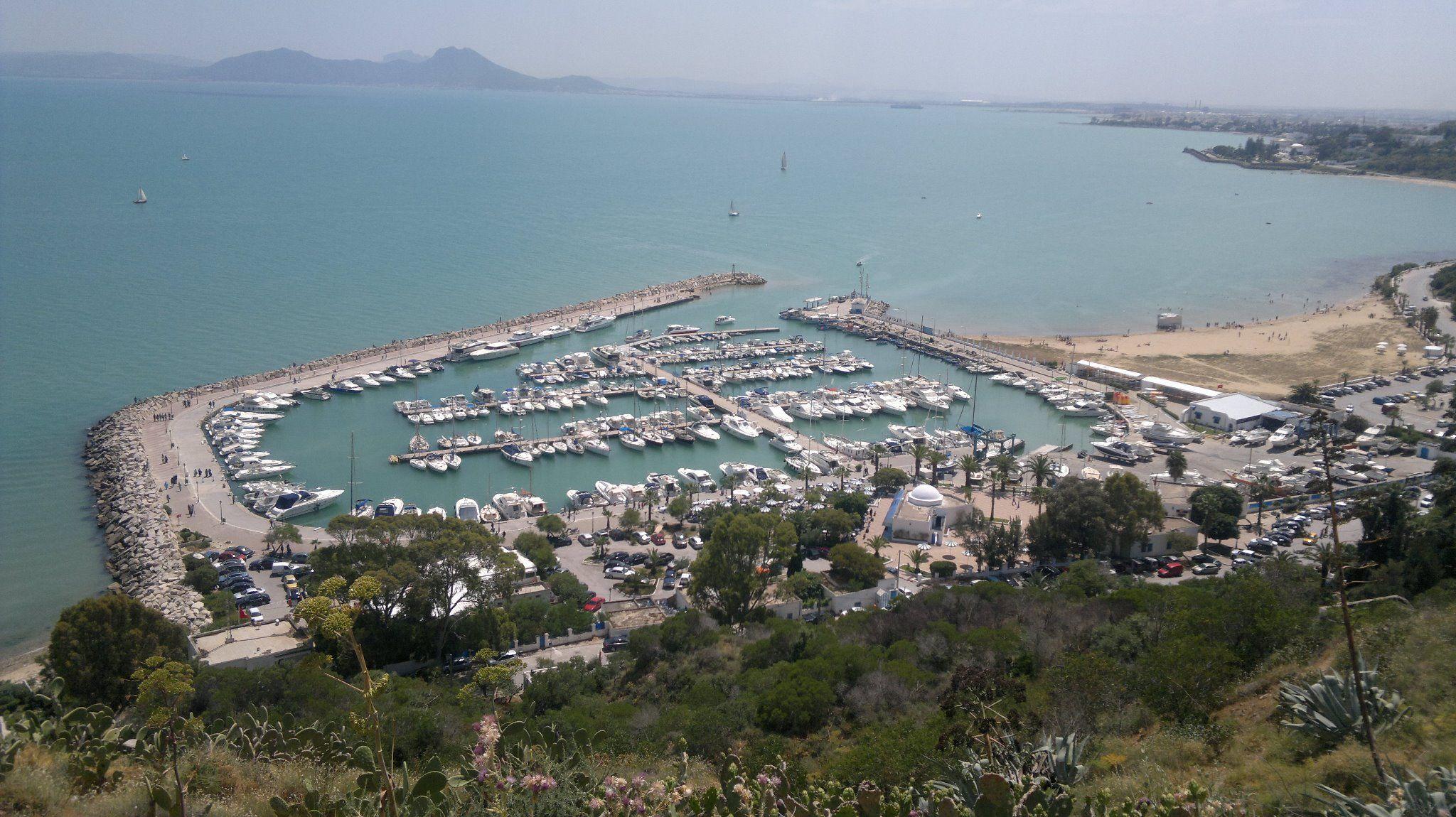 مرسي سيدي بوسعيد تونس Aerial Photo City Photo