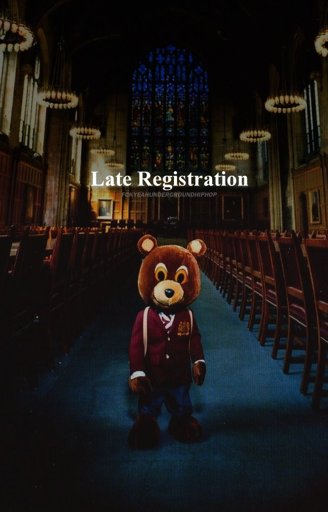Late Registration By Kanye West Kanye West Wallpaper Music Album Art Hip Hop Art