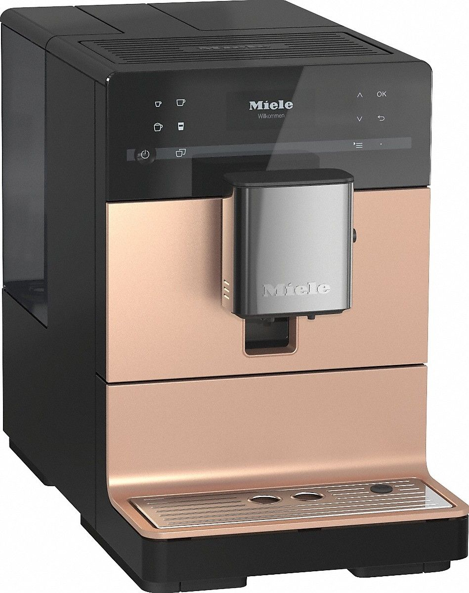 Miele Cm5500 Countertop Coffee Machine Rose Gold Coffee Maker Coffee Machine Pod Coffee Machine