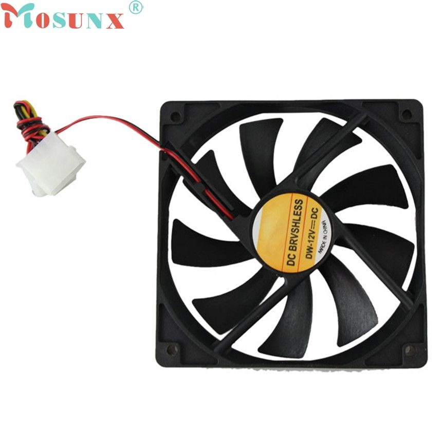 10 x 40mm PC Fan Silent Cooling Heat Computer Case 12V 3 Pin Wire Mini Black