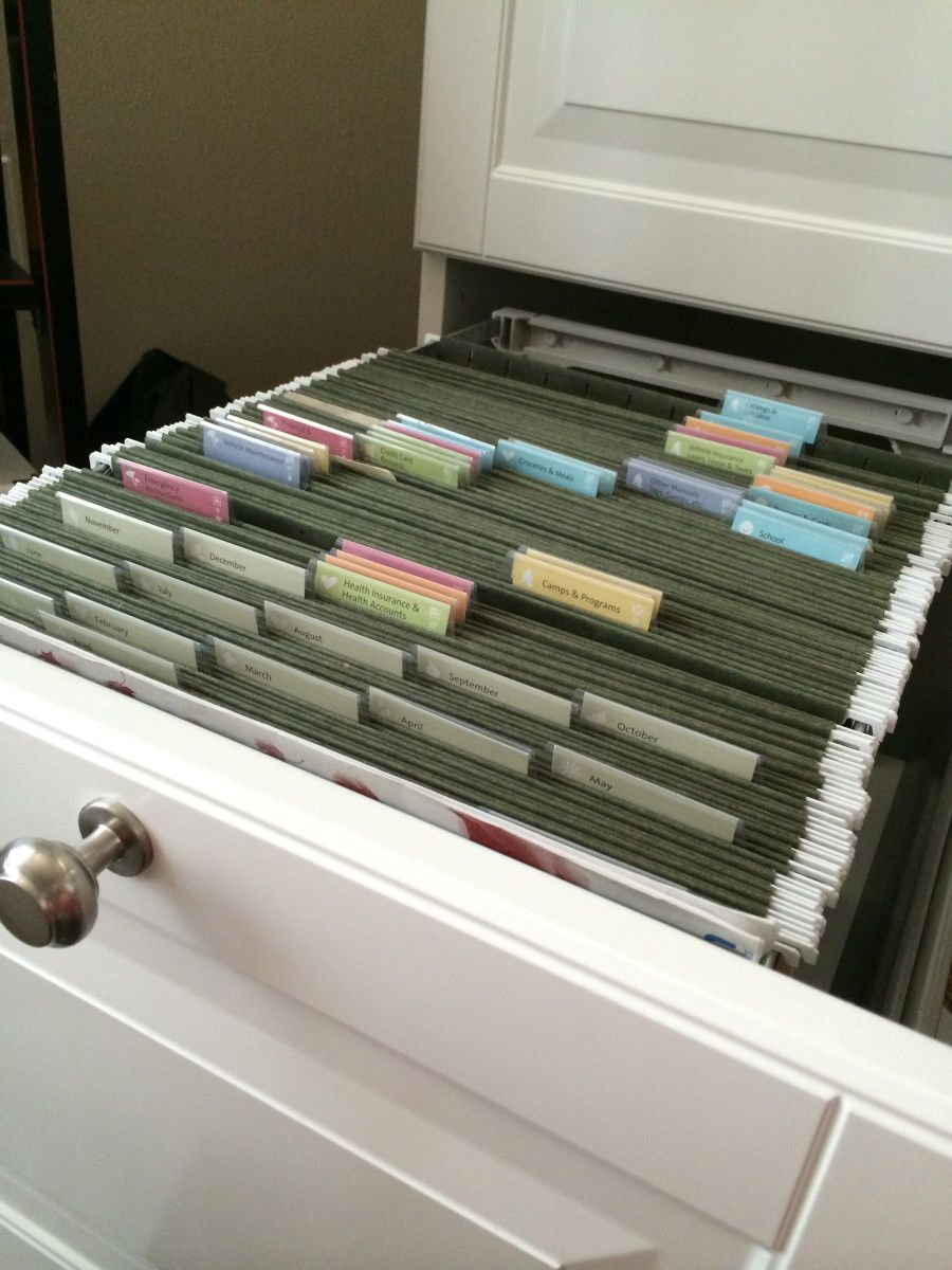 Ikea Home Filing System Hack The Akurum Into A Filing Cabinet Smart Diy Decor