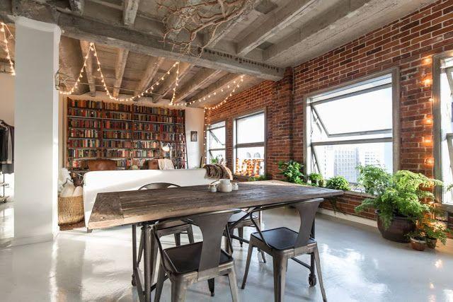 La Buhardilla - Decoración, Diseño y Muebles: Un sensacional loft en Los Angeles