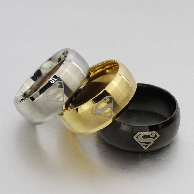 superhero with box rings ring wedding