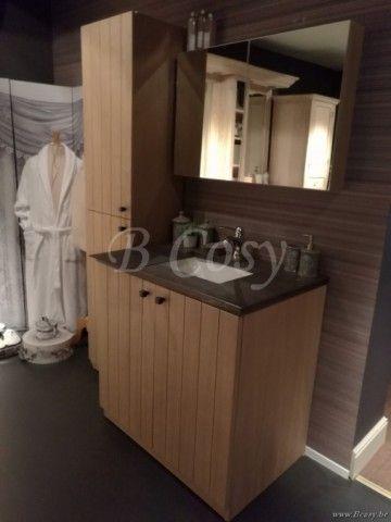 ll-bath-045w-armoire evier salle de bain style campagne rural avec pierre bleue