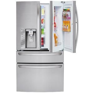 Ft 4 Door Refrigerator W Customchill Drawer
