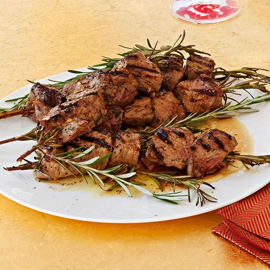 Sirloin Kebabs - the perfect appetizer, or serve them up with a side of mashed potatoes!