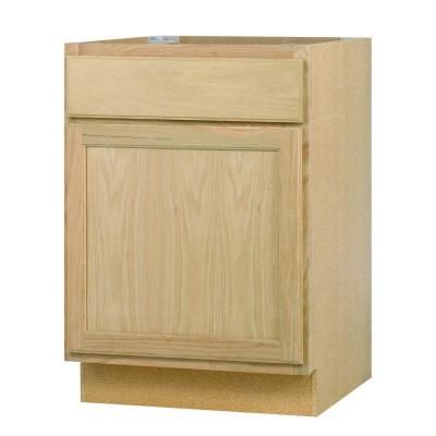 kitchen base cabinets home depot null 24x34 5x24 in base cabinet in unfinished oak 7725