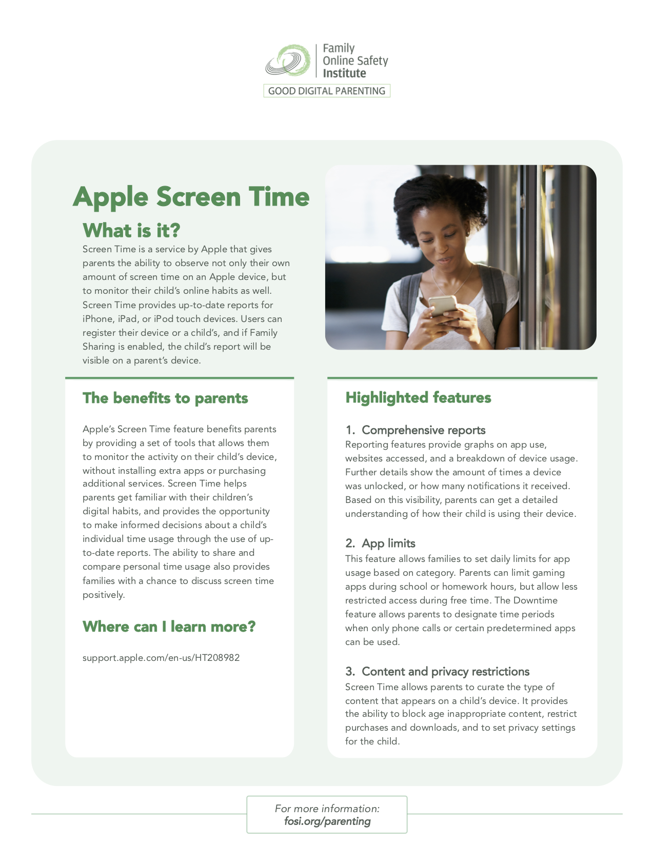 Tip Sheet What is Apple Screen Time?