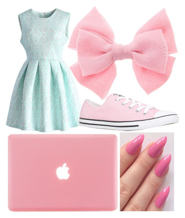 """""""Untitled #288"""" by lyndsayloo ❤ liked on Polyvore featuring Chicwish and Converse"""