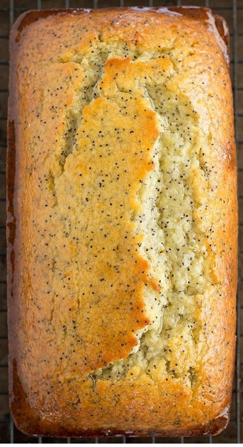Lemon Poppy Seed Bread -  This article is the trully divine Bread recipe that you've ever read ~~