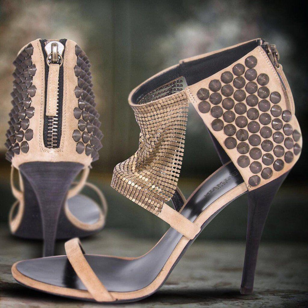 b0338e11057 Shop authentic Giuseppe Zanotti For Balmain Sandals at REVOGUE for ...