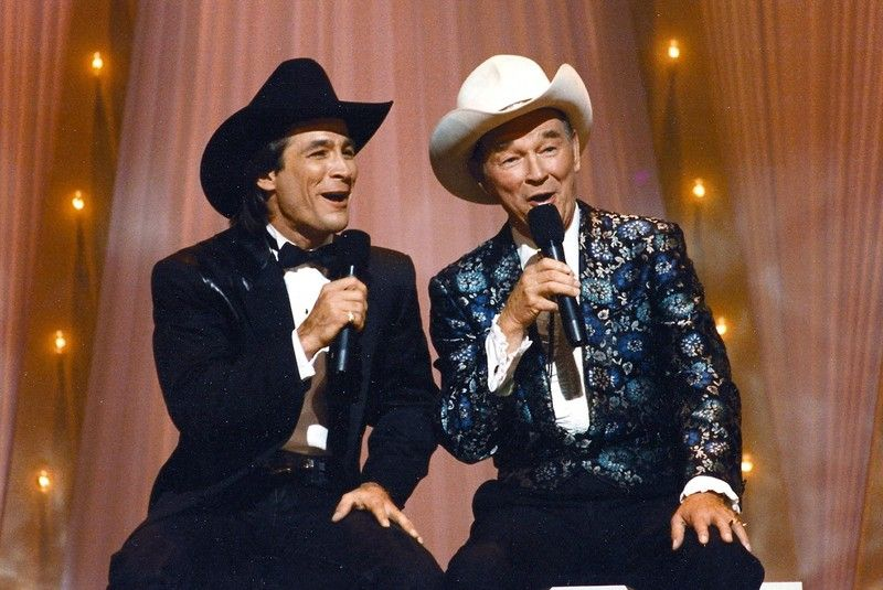 Hold on partner — The day Clint Black met the King of the Cowboys ...