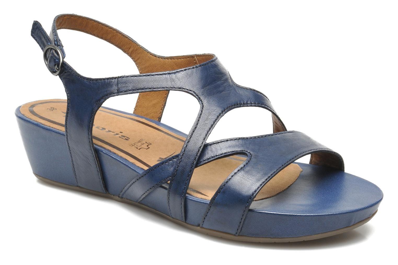 012e3b10f7473d sandales compensées bleu sarenza | Mariage médiéval | Sandales ...