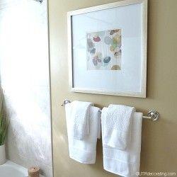 Bathroom Wall Decor Diy, Pictures To Hang In Bathroom