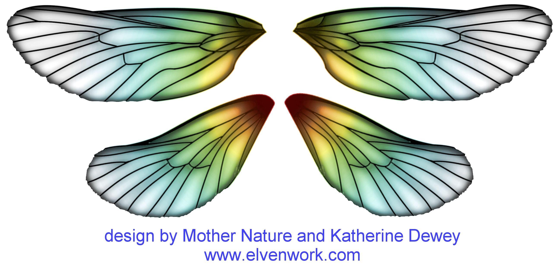 Free Download Fairy Wing Designs By Katherine Dewey Fairy Wings