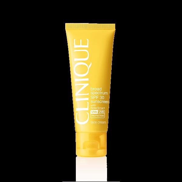 Broad Spectrum Spf 30 Sunscreen Oil Free Face Cream Clinique In 2020 Anti Wrinkle Face Cream Face Cream Sunscreen Oil