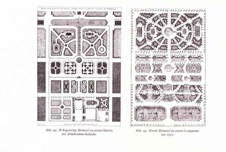 Design   Architectural   Garden Design   German   Formal Garden Design Plans