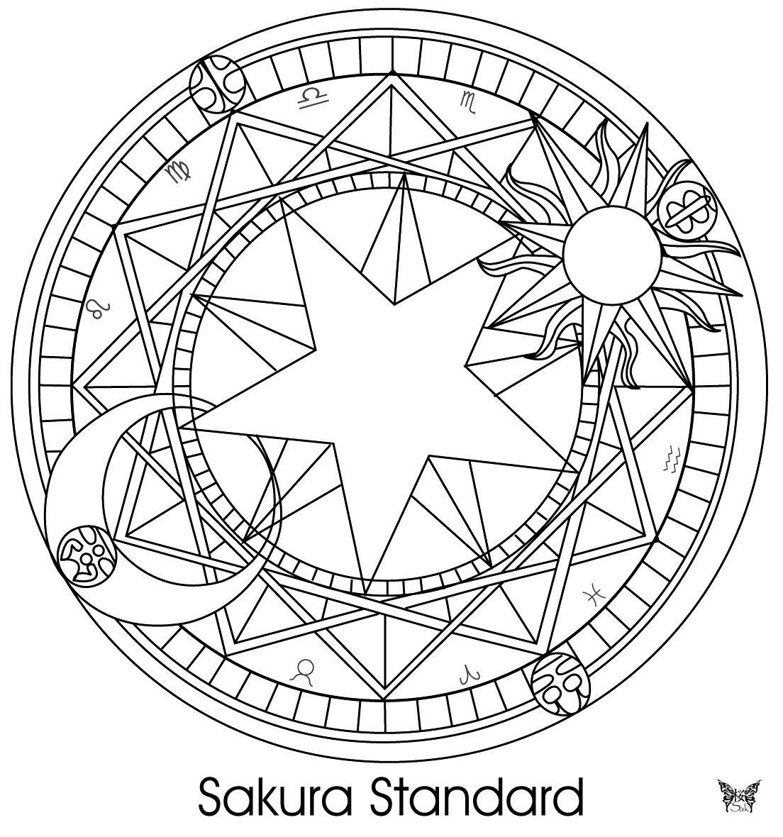 Cardcaptor Sakura Sakura Tattoo Sakura Card Cardcaptor Sakura