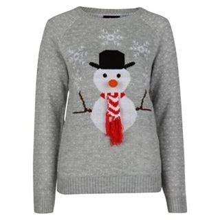 Rock and Rags by Firetrap Snowman Knitted Jumper - USC gift ideas ...