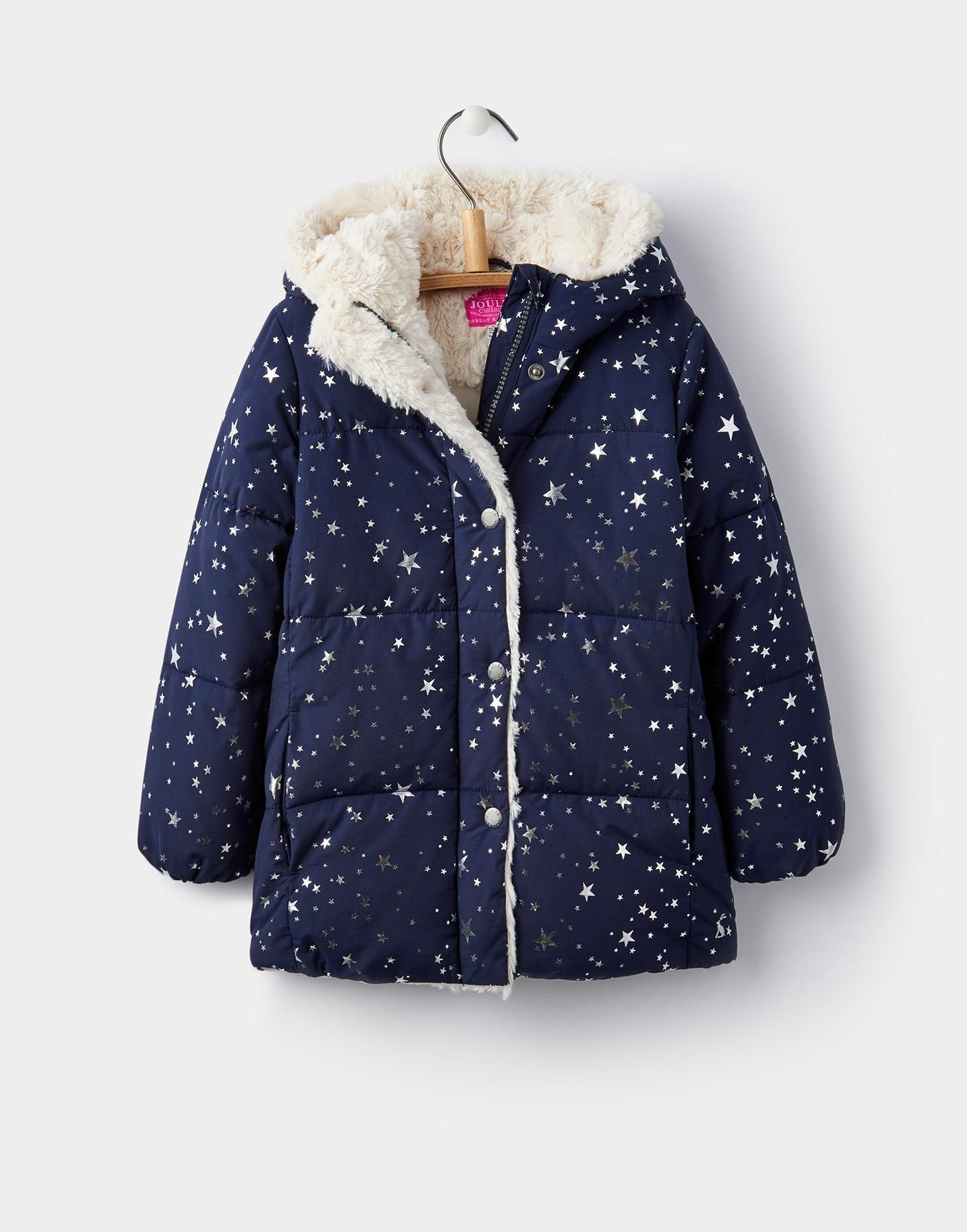 best deals on online here website for discount Nell Star Fleece Lined Puffa 1-6yr | Joules US | Kids Stuff ...