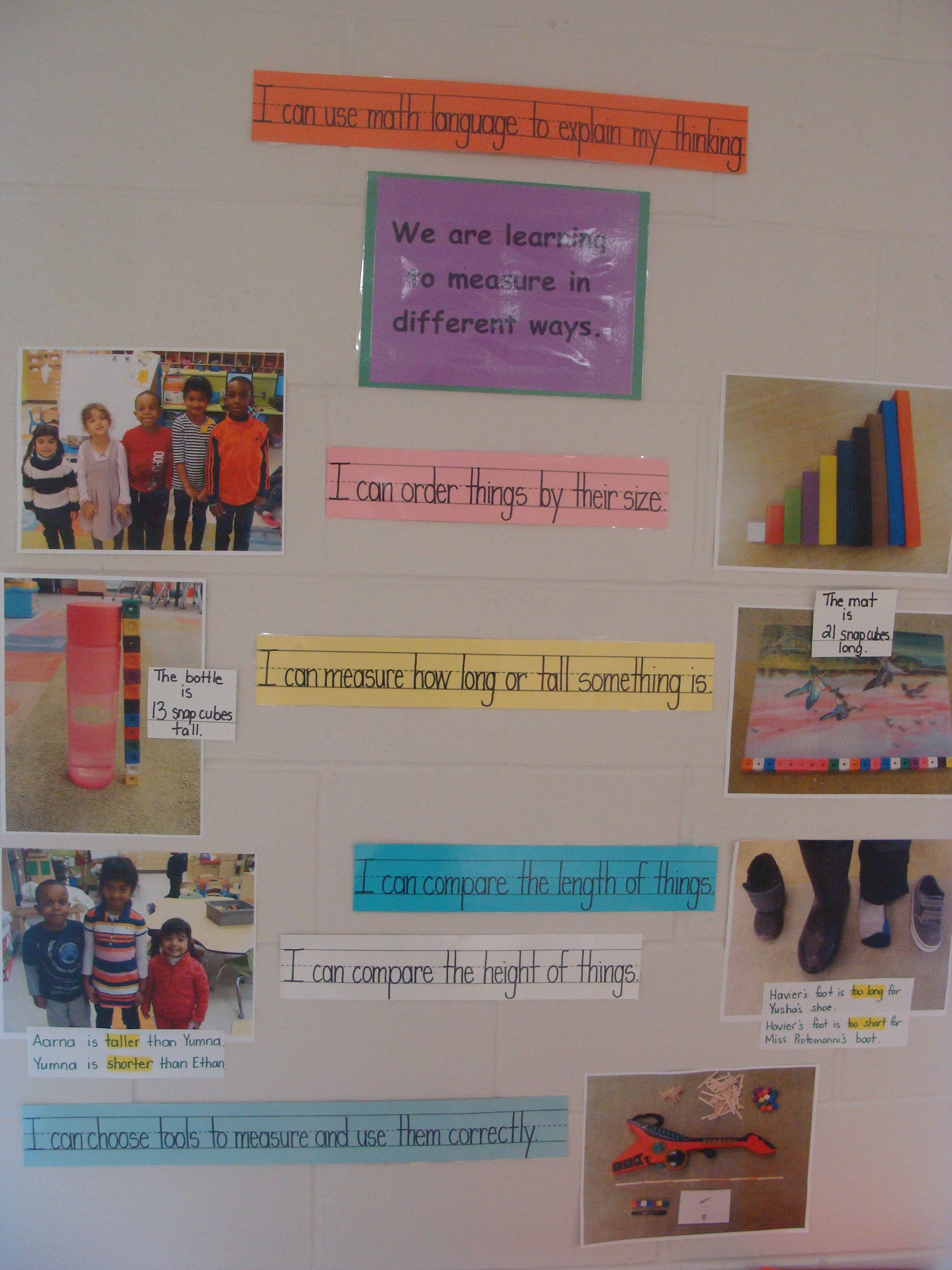 Learning Goals Success Criteria For Math