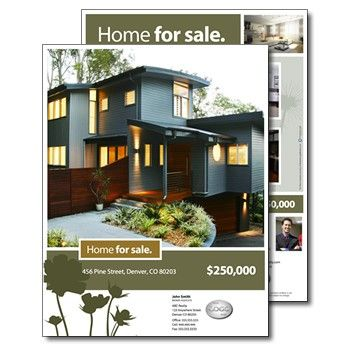 Real Estate Brochures  Home For Sale Brochure