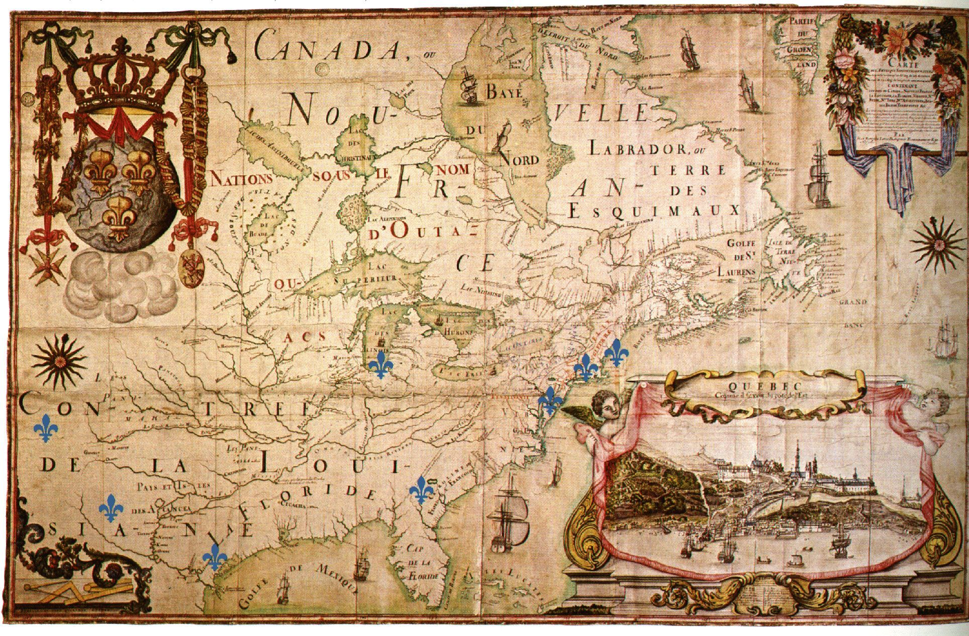10 awesome new france map 1712 images collage journal abstract 10 awesome new france map 1712 images gumiabroncs Images