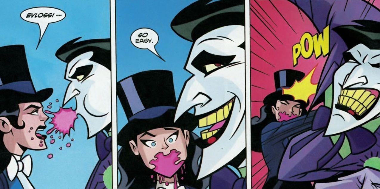 نتیجه تصویری برای zatanna and joker