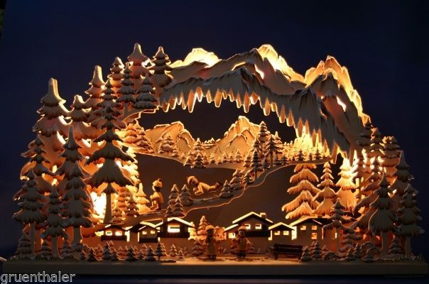 3d schwibbogen erzgebirge pyramide geschnitzt. Black Bedroom Furniture Sets. Home Design Ideas