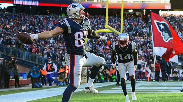 Rob Gronkowski Sets New Patriots Record But Still Wants Biscuits