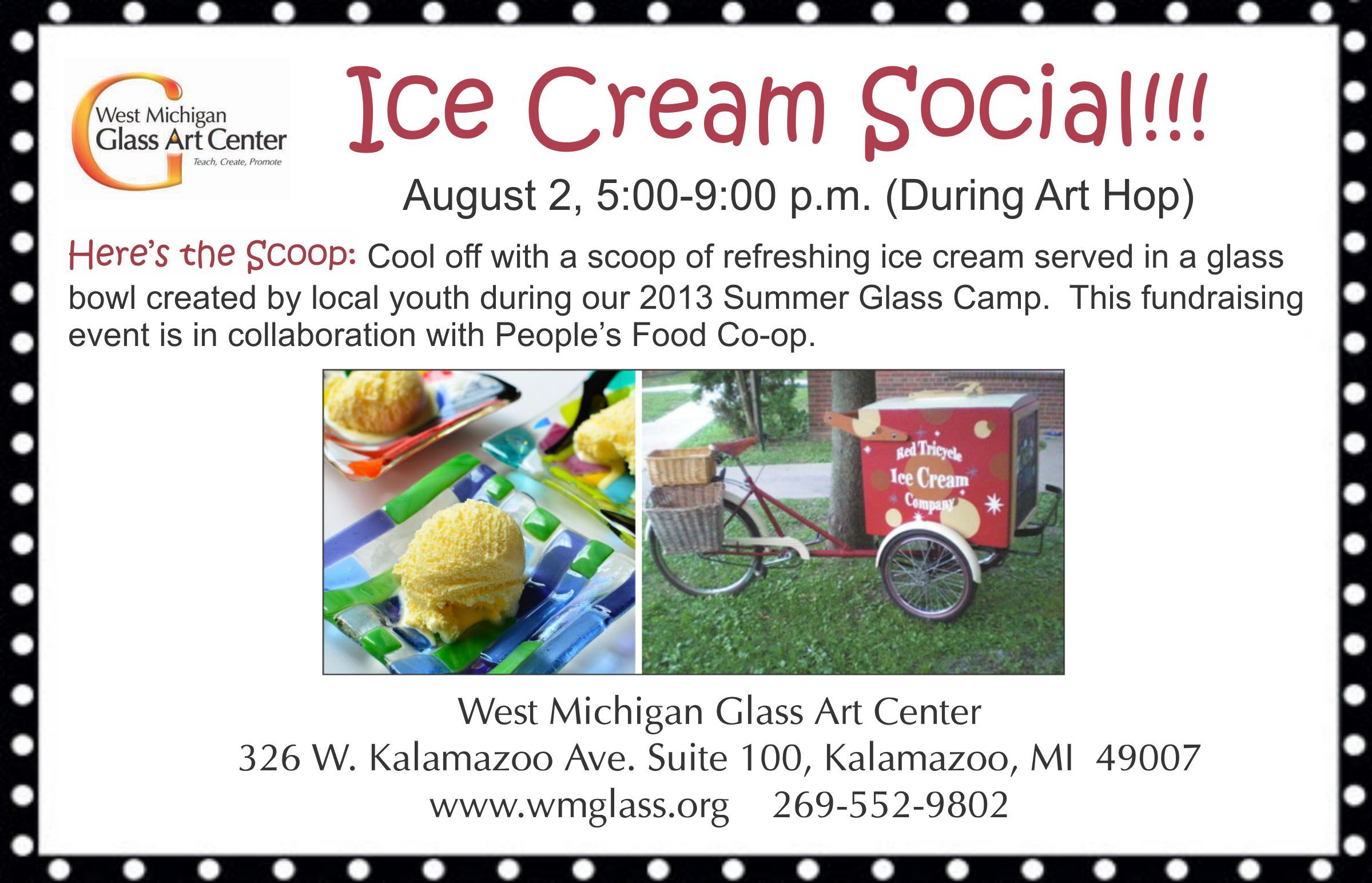 Happening during Art Hop next Friday, August 2nd, 5-9pm!