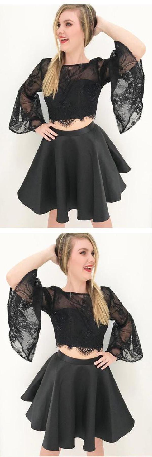 Discount feminine black lace prom dresses cute prom dresses prom