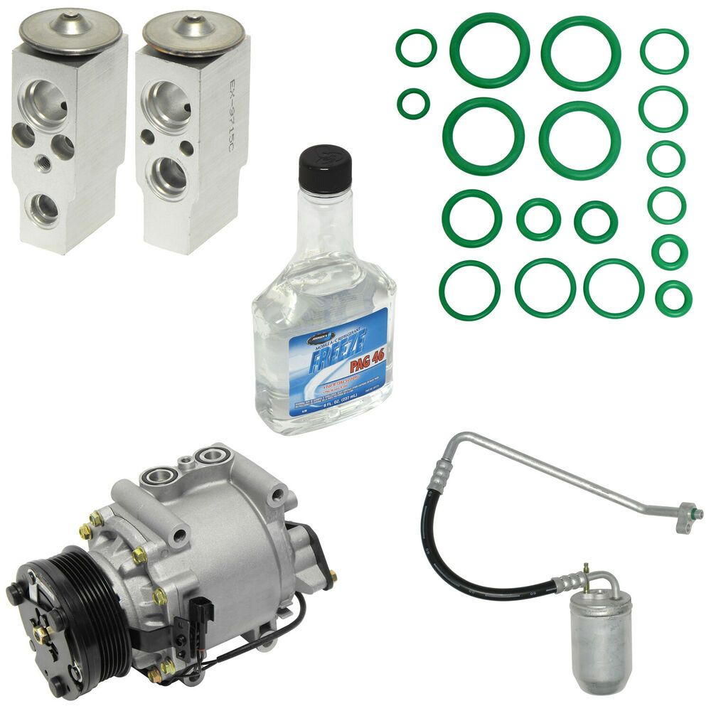 New Auto Ac Air Conditioning Compressor Kit For 05 07 Ford Five Hundred Universalairconditioner Ford Five Hundred Compressor Conditioner