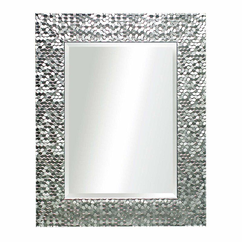Lavergne Beveled Distressed Accent Mirror In 2020 Mirror Wall Living Room Mirror Trends Living Room Mirrors