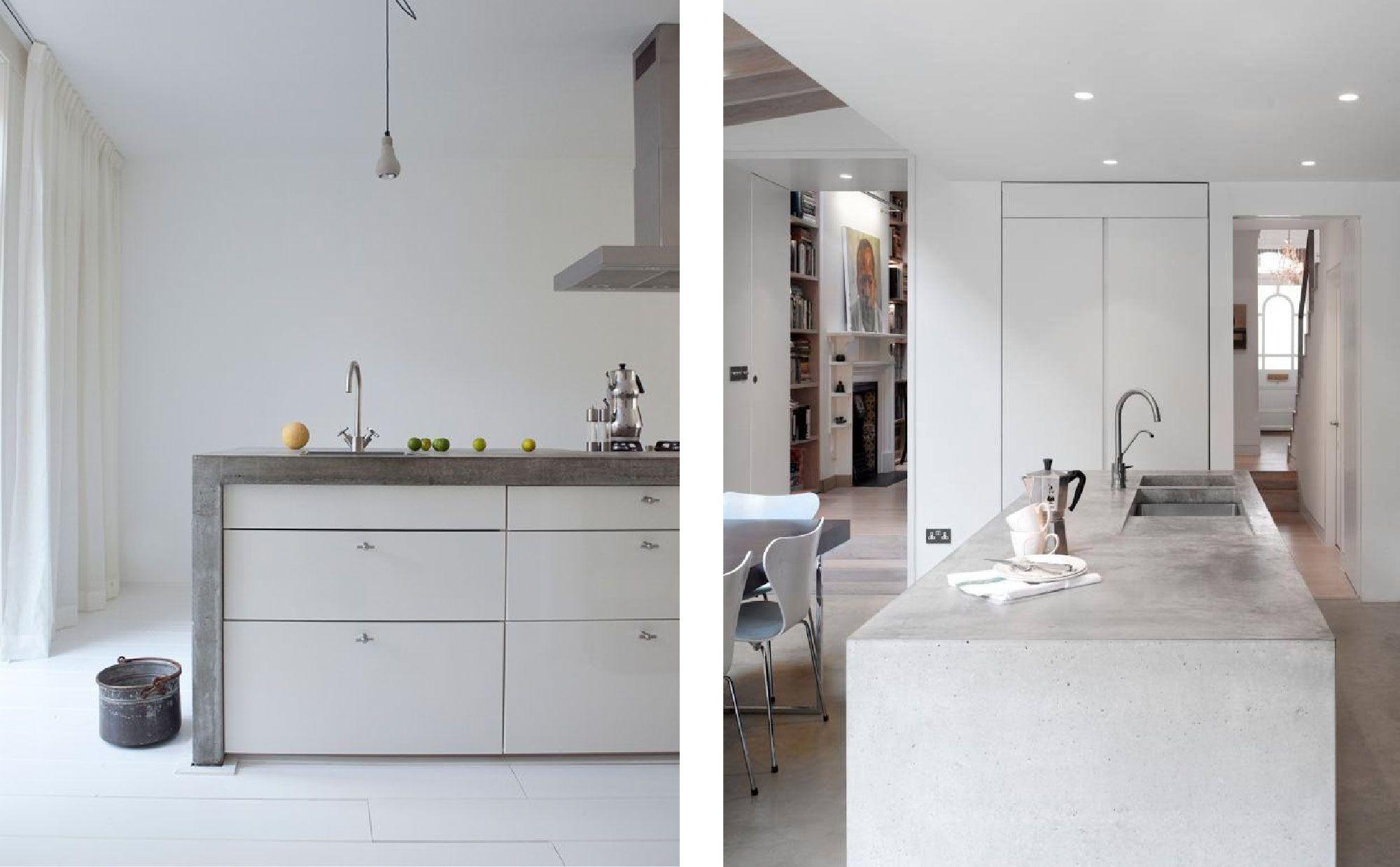 Betonstuc in de keuken keuken lofts and interiors