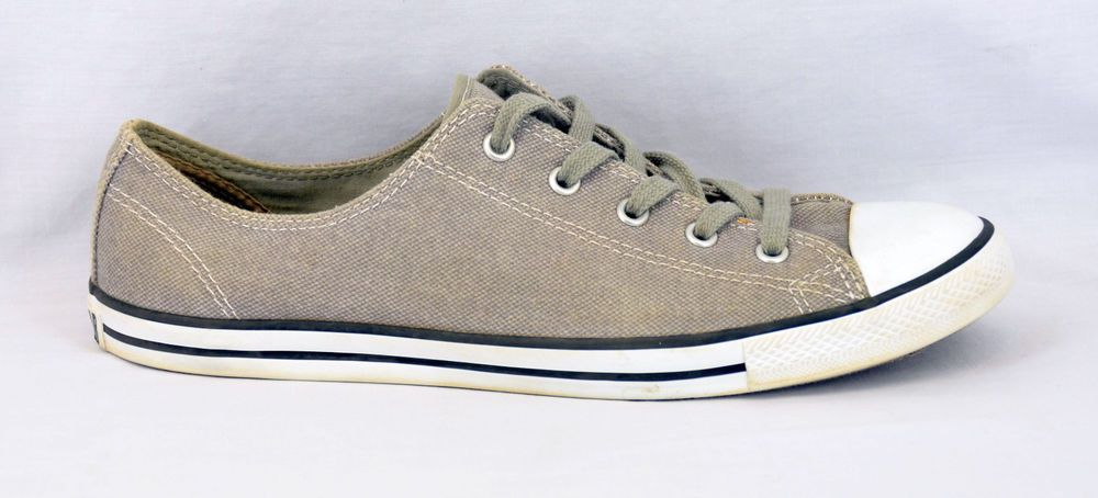 b2e929f410b0 Converse All Star sneakers low top gray shoes Women s size 10 Athletic GUC   Converse  FashionSneakers