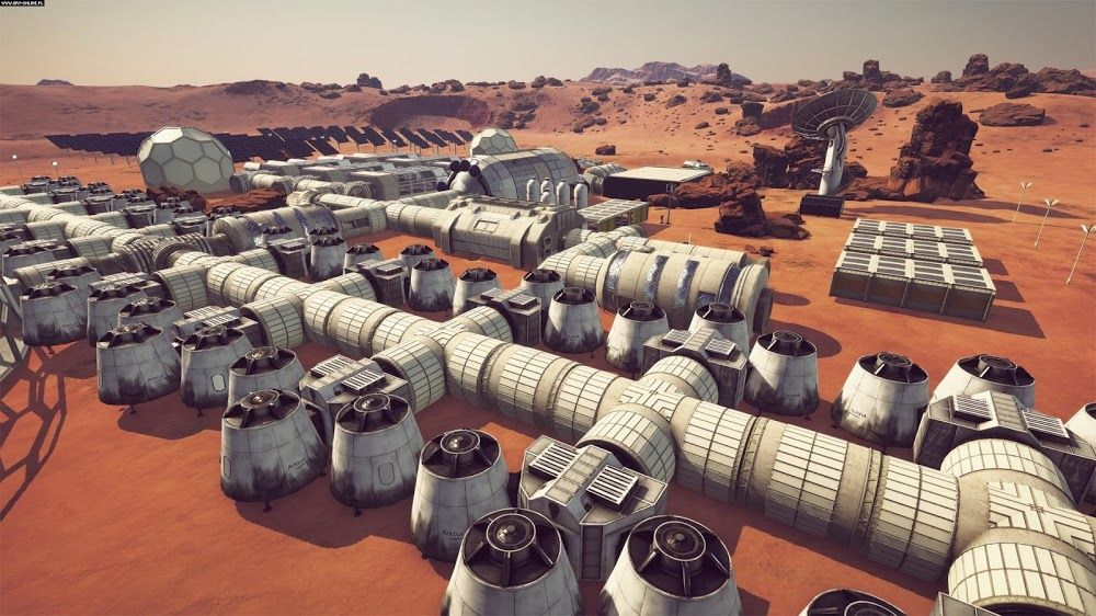 Occupy Mars - simulation game about Mars colonization | Games set on